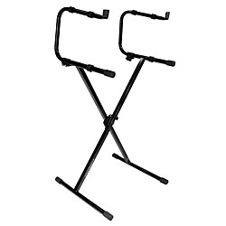Ultimate Support IQ-1200 2-Tier X-Style Keyboard Stand (17477)