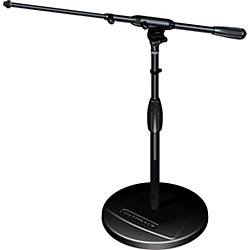 Ultimate Support TOUR-RB-T Round Base Mic Stand with Telescoping Boom (TOUR-RB-SHORT-T)