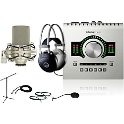 Universal Audio Apollo Twin DUO M80 Recording Bundle (ApolloTwinDUO M80 Bundle)