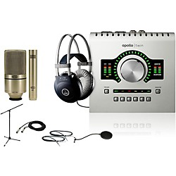 Universal Audio Apollo Twin SOLO 990/991 Recording Bundle (ApolloTwinSOLO 990/991 Bd)