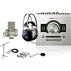 Universal Audio Apollo Twin SOLO M80 Recording Bundle (ApolloTwinSOLO M80 Bundle)