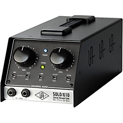 Universal Audio UA-S610 SOLO/610 Classic Vacuum Tube Microphone Preamp and DI Box (SOLO/610 USED)