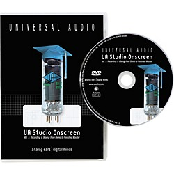Universal Audio UA Studio Onscreen Vol. 1 DVD (SOS v1)