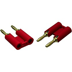 VTG MDPR Red Banana Plugs 2-Pack (MDPR)