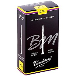 Vandoren Black Master Bb Clarinet Reeds (CR1825)