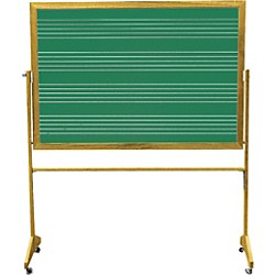 Vecchio Portable Music Staff Chalkboards (V-GAM-21DC)