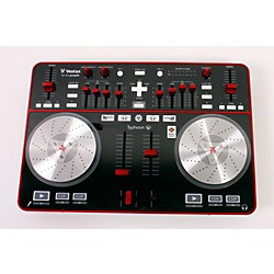 Vestax Typhoon DJ MIDI controller with sound card (USED005015 TYPHOON)