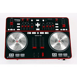 Vestax Typhoon DJ MIDI controller with sound card (USED005019 VES-TYPHOON)