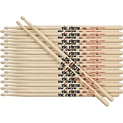 Vic Firth 12-Pair American Classic Hickory Drumsticks (1A-12PK)