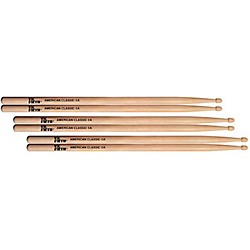 Vic Firth American Classic Hickory Wood 5A 3 Pair (KIT773013)