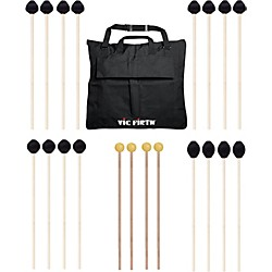 Vic Firth Keyboard Mallet 10-Pack w/ Free Mallet Bag (M-10P-4M188-A)