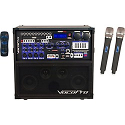 Vocopro HERO-REC UHF Multi-Format Portable PA Karaoke System with Digital Recorder & UHF Wireless System (HERO-REC-5)