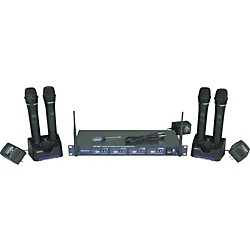 Vocopro UHF-5805 Rechargeable Wireless Microphone System (UHF-5805-3)