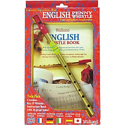 Waltons English Penny Whistle Value Pack (634106)