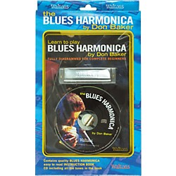 Waltons Learn To Play Blues Harmonica Book and CD (634011)