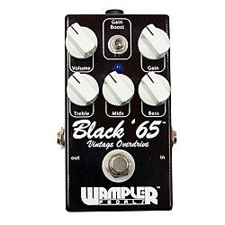 Wampler Black 65 Overdrive Guitar Effects Pedal (USED004000 Black '65)