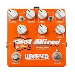 Wampler Brent Mason Signature Overdrive/Distortion Guitar Effects Pedal (USED004000 Hot Wired)