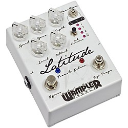 Wampler Latitude Deluxe Tremolo Guitar Effects Pedal (3052)