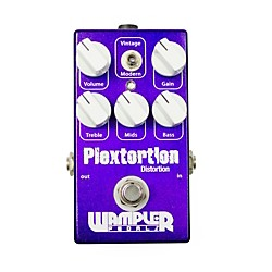 Wampler Plextortion Distortion Guitar Effects Pedal (USED004000 PLEXTORTION)