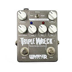 Wampler Triple Wreck Distortion Guitar Effects Pedal (USED004000 Triple Wreck)