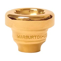 Warburton Size 2 Series Trumpet and Cornet Mouthpiece Top in Gold (181023)