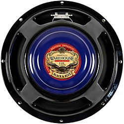 "Warehouse Guitar Speakers Black & Blue 12"" 15W British Invasion Guitar Speaker (2420)"