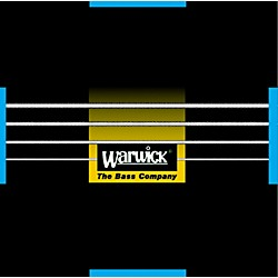 Warwick Black Label Stainless Medium 4-String Bass Strings (WWS40200)