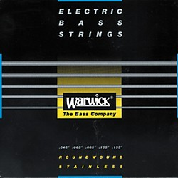 Warwick Black Label Stainless Medium 5-String Bass Strings (WWS40301)