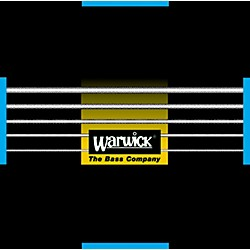 Warwick Black Label Stainless Medium Low 5-String Bass Strings (WWS40300)