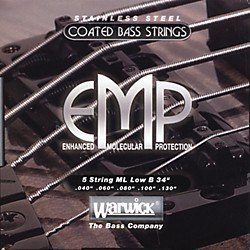 Warwick ML5B EMP COATED 5-String Bass Strings Medium Light (38300)