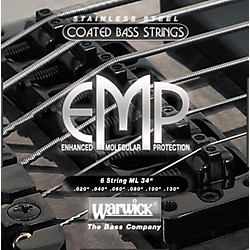 Warwick ML6 EMP COATED 6-String Bass Strings Medium Light (38400)
