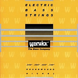 Warwick Yellow Label Nickel Medium 4-String Bass Strings (WWS41200)