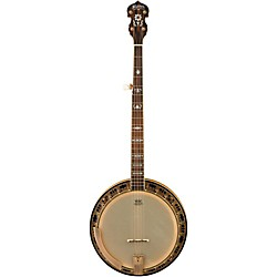 Washburn B120 Natural Distressed 5-String Banjo w/case (B120K)