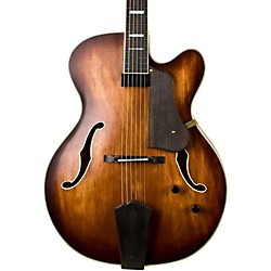 Washburn J600 Jazz Venetian Cutaway Electric Guitar (USED004000 USM-J600K)