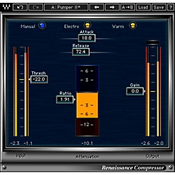 Waves Renaissance Compressor Native Software Plug-In (V5-RCN40)