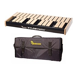 Wernick MkVI Blonde Birch Xylosynth w/Button Control, Internal Sounds and Soft Bag (XS6-2BB-BC-IS-WBAG-KIT)