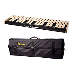 Wernick MkVI Blonde Birch Xylosynth w/Internal Sounds, Flight Case and Accessories (XS6-3BB-IS-WCASE-KIT)