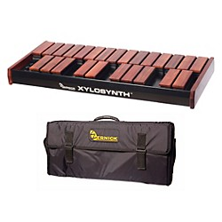 Wernick MkVI Bubinga Xylosynth w/LED Display and Soft Bag (XS6-2BU-LED-WBAG-KIT)