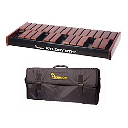 Wernick MkVI Stained Birch Xylosynth w/LED Display and Soft Bag (XS6-2SB-LED-WBAG-KIT)