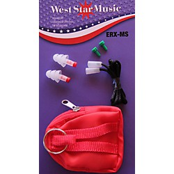 WestStar ERX-MS Earplugs In Soft Case With Cord (ERX-MS)
