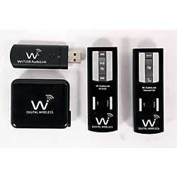 Wi Digital AudioLink MP Pocket Portable Stereo Digital Wireless System (USED005002 JM-WAL35P)
