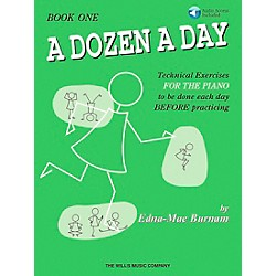 Willis Music A Dozen A Day Book 1 Book/CD (406481)