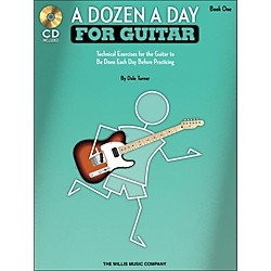 Willis Music A Dozen A Day For Guitar - Book 1 Book/CD Pack (416758)