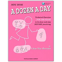 Willis Music A Dozen A Day Mini  Book Bk/CD (406472)