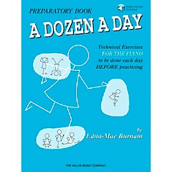 Willis Music A Dozen A Day Preparatory Book/CD (406476)