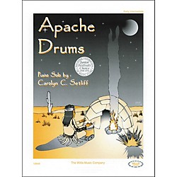 Willis Music Apache Drums Early Intermediate Piano Solo by Carolyn Setliff (406810)