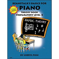Willis Music Beanstalk's Basics For Piano Theory Book Preparatory Level B by Cheryl Finn (406439)