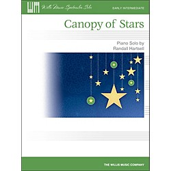 Willis Music Canopy Of Stars - Early Intermediate Piano Solo Sheet (416834)