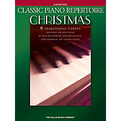Willis Music Classic Piano Repertoire: Christmas Elementary Level Piano Songbook (101981)
