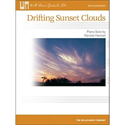 Willis Music Drifting Sunset Clouds - Later Elementary Piano Solo Sheet (416819)